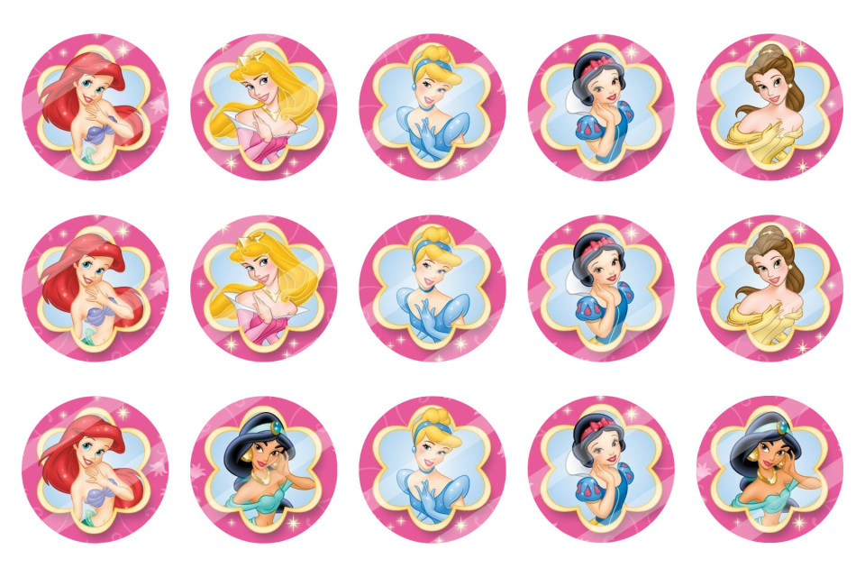 Disney Princess Bottle Cap